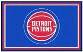 Fan Mats NBA Detroit Pistons 4'x6' Rug