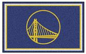 Fan Mats NBA Golden State Warriors 4'x6' Rug