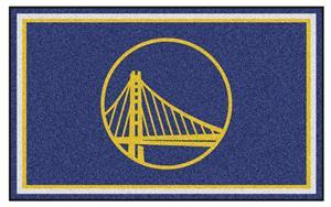 Fan Mats NBA Golden State Warriors 4'x6' Rug