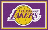 Fan Mats NBA Los Angeles Lakers 4'x6' Rug