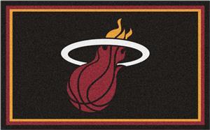 Fan Mats NBA Miami Heat 4'x6' Rug