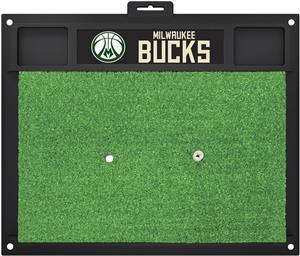 Fan Mats NBA Milwaukee Bucks Golf Hitting Mat
