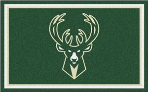 Fan Mats NBA Milwaukee Bucks 4'x6' Rug