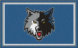 Fan Mats NBA Minnesota Timberwolves 4'x6' Rug