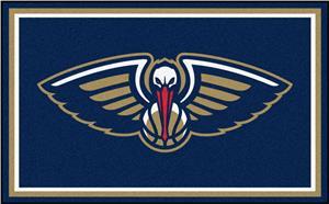 Fan Mats NBA New Orleans Pelicans 4'x6' Rug
