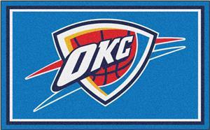 Fan Mats NBA Oklahoma City Thunder 4'x6' Rug