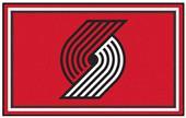 Fan Mats NBA Portland Trail Blazers 4'x6' Rug