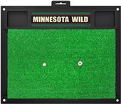 Fan Mats NHL Minnesota Wild Golf Hitting Mat