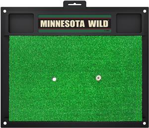 Fan Mats NHL Minnesota Wild Golf Hitting Mat