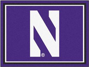 Fan Mats NCAA Northwestern University 8'x10' Rug