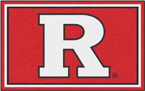 Fan Mats NCAA Rutgers University 4'x6' Rug