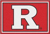 Fan Mats NCAA Rutgers University 5'x8' Rug