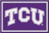 Fan Mats NCAA Texas Christian University 5'x8' Rug