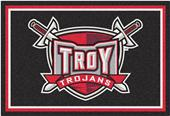 Fan Mats NCAA Troy University 5'x8' Rug