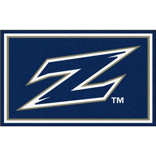 Fan Mats NCAA University of Akron 4'x6' Rug