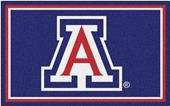 Fan Mats NCAA University of Arizona 4'x6' Rug