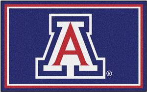 Fan Mats NCAA University of Arizona 4'x6' Rug