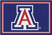 Fan Mats NCAA University of Arizona 5'x8' Rug