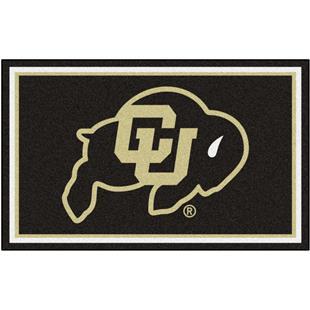 Fan Mats NCAA University of Colorado 4'x6' Rug