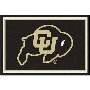 Fan Mats NCAA University of Colorado 5'x8' Rug