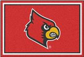 Fan Mats NCAA University of Louisville 5'x8' Rug