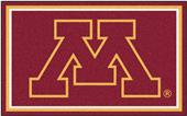Fan Mats NCAA University of Minnesota 4'x6' Rug