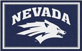 Fan Mats NCAA University of Nevada 4'x6' Rug