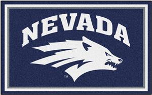 Fan Mats NCAA University of Nevada 4'x6' Rug