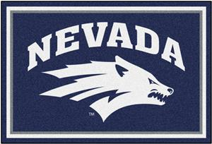 Fan Mats NCAA University of Nevada 5'x8' Rug