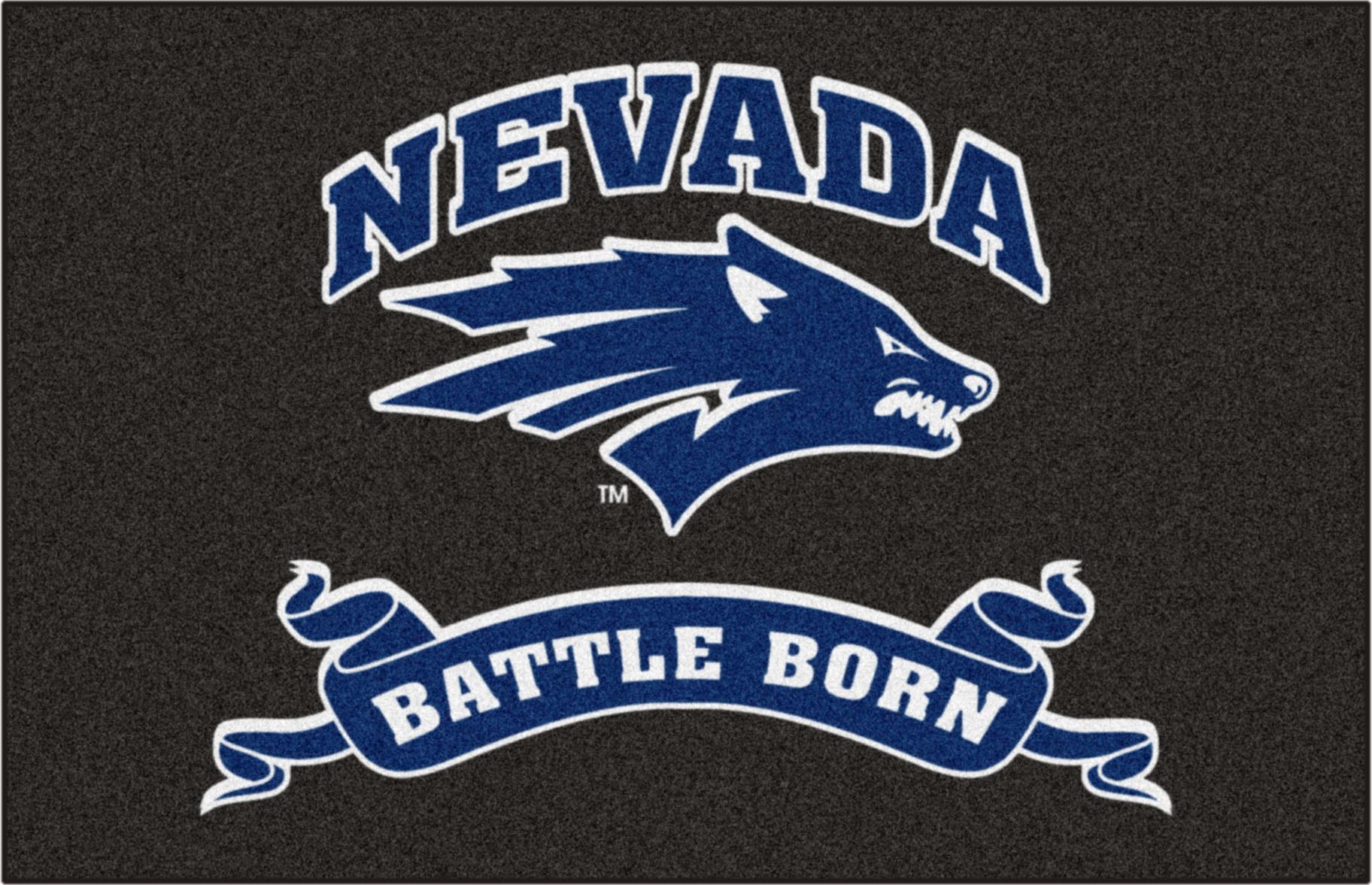 E116207 Fan Mats Ncaa University Of Nevada Starter Mat