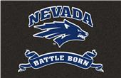 Fan Mats NCAA University of Nevada Starter Mat