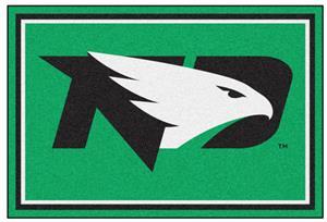 Fan Mats NCAA University of North Dakota 5'x8' Rug