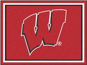 Fan Mats NCAA University of Wisconsin 8'x10' Rug