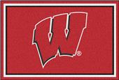 Fan Mats NCAA University of Wisconsin 5'x8' Rug
