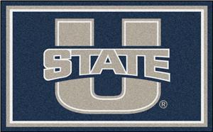 Fan Mats NCAA Utah State University 4'x6' Rug