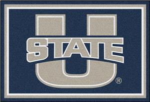 Fan Mats NCAA Utah State University 5'x8' Rug