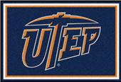 Fan Mats NCAA UTEP 5'x8' Rug