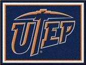 Fan Mats NCAA UTEP 8'x10' Rug