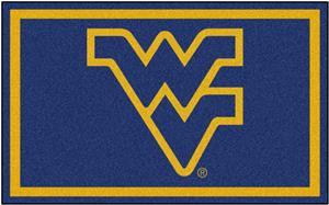 Fan Mats NCAA West Virginia University 4'x6' Rug
