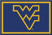 Fan Mats NCAA West Virginia University 5'x8' Rug