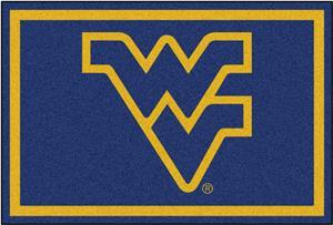 Fan Mats NCAA West Virginia University 5'x8' Rug