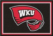 Fan Mats NCAA Western Kentucky Univ. 5'x8' Rug