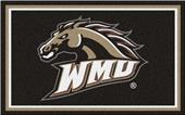 Fan Mats NCAA Western Michigan Univ. 4'x6' Rug