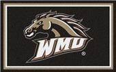 Fan Mats NCAA Western Michigan Univ. 4'x6' Rug