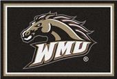 Fan Mats NCAA Western Michigan Univ. 5'x8' Rug