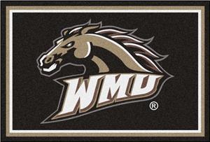 Fan Mats NCAA Western Michigan Univ. 5'x8' Rug