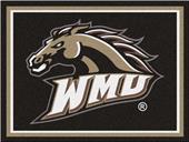 Fan Mats NCAA Western Michigan Univ. 8'x10' Rug