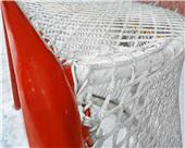Bison 6mm Ice Hockey Net with Puck Cushions (pair)