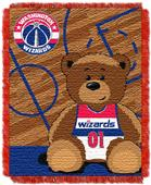 Northwest NBA Wizards Baby Woven Jacquard Throw