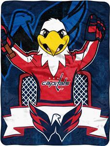 Northwest NHL Capitals Mascot Micro Raschel Throw